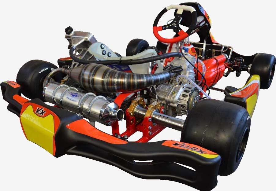 SGM VELOX Go-Kart e Motori - KZ shifter kart