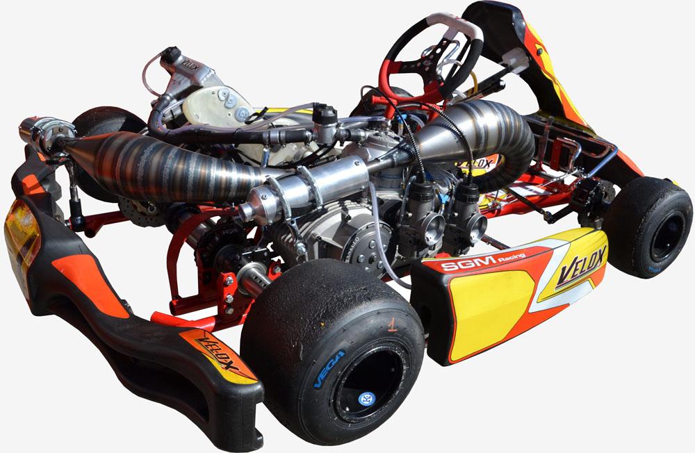 SGM VELOX Go-Kart e Motori - Go Kart Xtreme 250 2T